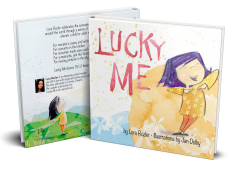 Lucky Me Double Sided Hard Cover
